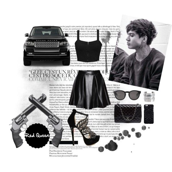 Calum by elleonora-scarlat on Polyvore featuring Element, Smith & Wesson, Chanel, Pieces and Monki