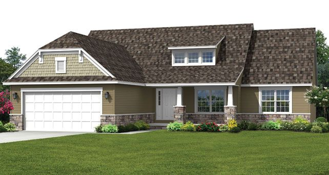 Ranch house floor plans the camden wayne homes houses Wayne homes floor plans