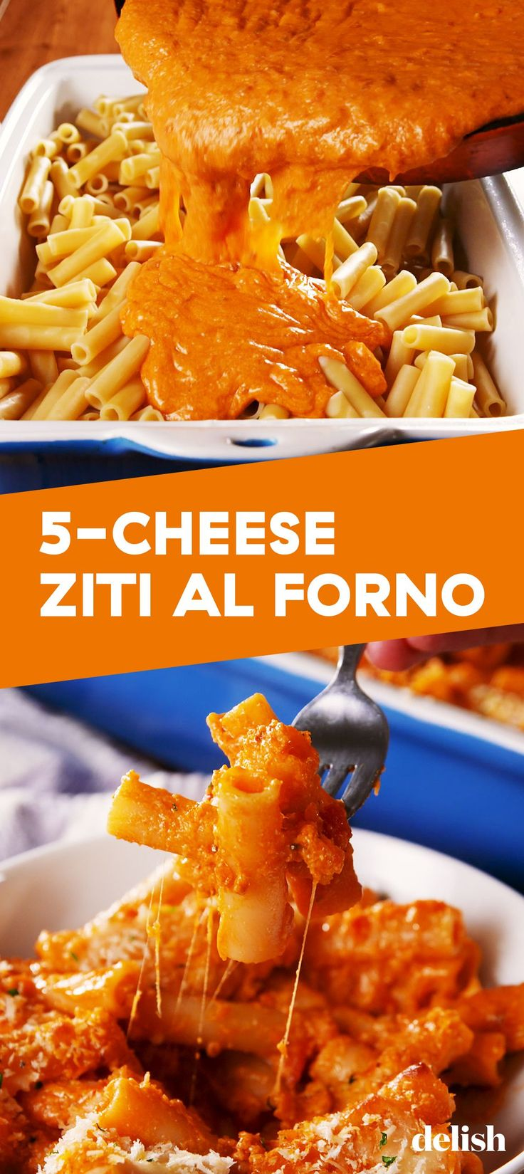 This 5Cheese Ziti Al Forno Tastes JUST Like Olive Garden