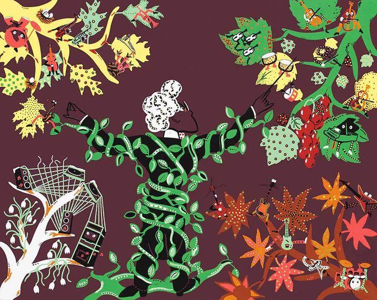 Dejo Toyism Art - The Four Seasons of Vivaldi.