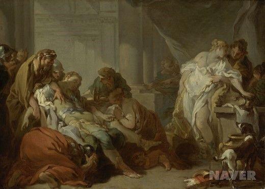 멜레아그로스의 죽음