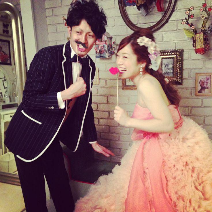 オーダーメイドフォトウエディング(Photo Wedding)ドレス(Dress):04-5917 / タキシード(Tuxedo):12-4086