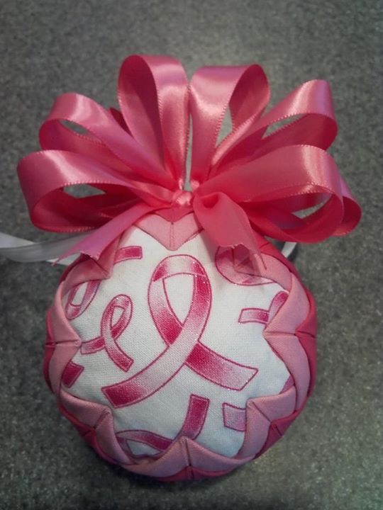 25 best Breast Cancer Christmas Ornaments images on Pinterest ...