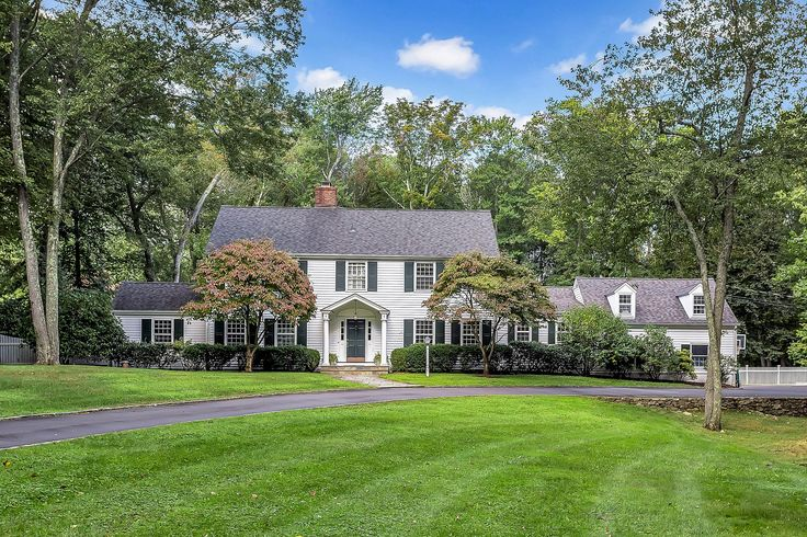 Quintessential Connecticut Colonial ... 20 Indian Spring Trail, Darien CT. Represented by Casey Lange. To see more eye candy on this home go to https://www.halstead.com/sale/ct/darien/20-indian-spring-trail/house/170020559