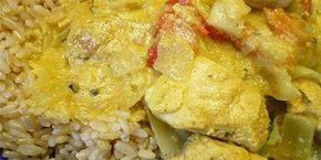 Jurel con Arroz al Curry