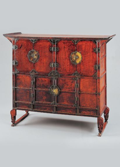 [Joseon Dynasty, late 18th Century] Clothing Chest | Korea - 27 Best Korean Antique Images On Pinterest Antique Furniture