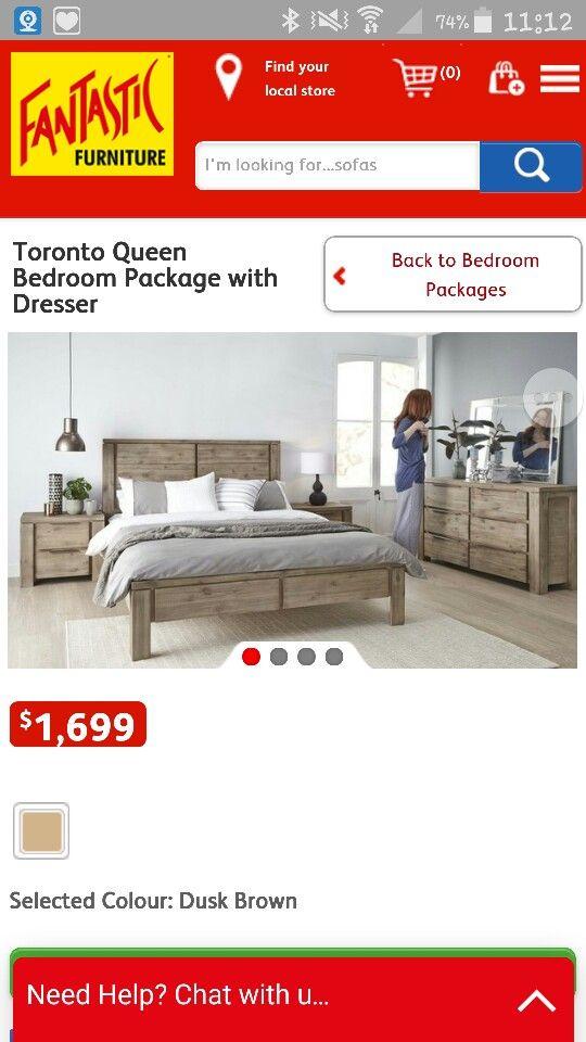 Fantastic Furniture suite $1699