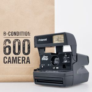 Refurbished polaroid 600 cam 90s style dress