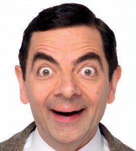 You're a strange one Mr. Bean