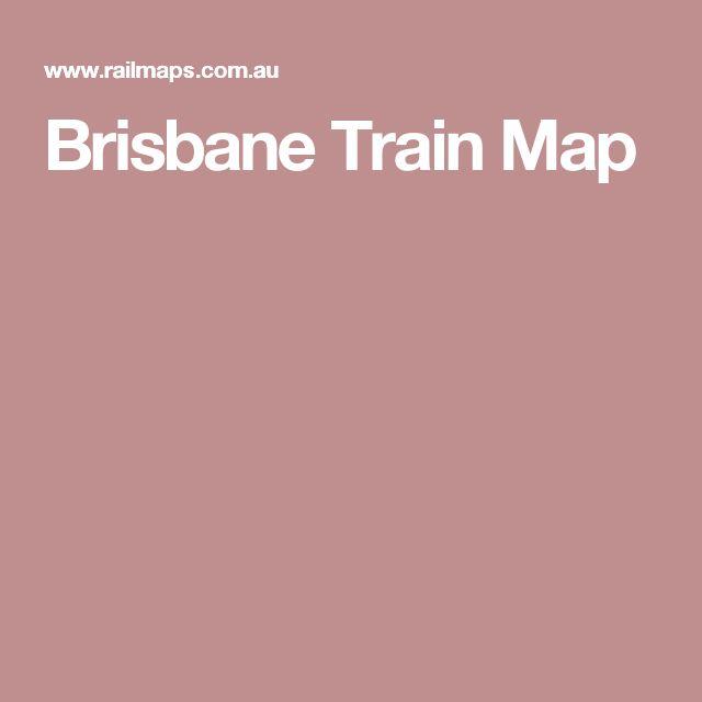 Brisbane Train Map