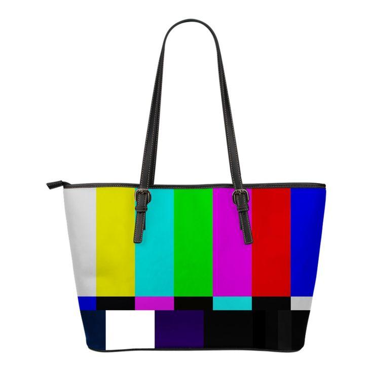 Petit sac Fourre-tout en cuir TV