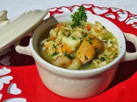 Sopa de pescado rápida y económica Cocina tradicional