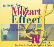 Music for the Mozart Effect: Vol. 4, Focus and Clarity: Music for Pro [CD]