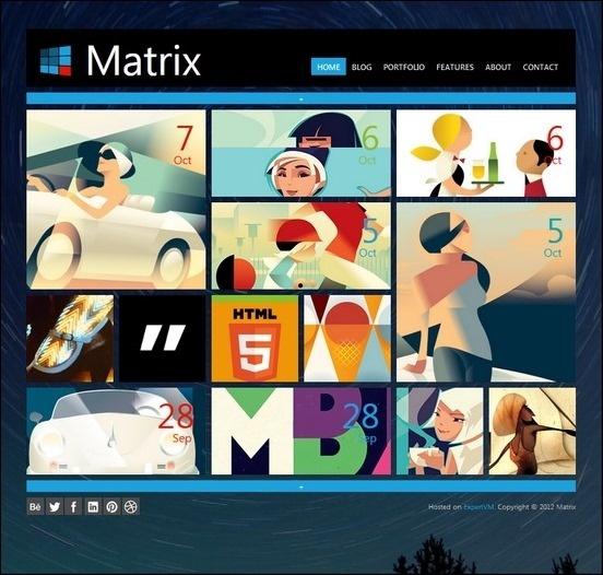 matrix-responsive-wordpress-theme