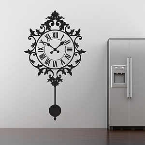 Clock Wall Art 78 best shadows and wall art silhouettes images on pinterest