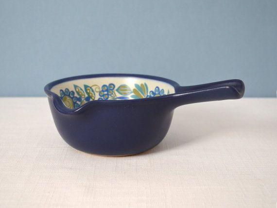 Vintage Figgjo Flint Tor Viking Saucepan Designed by Turi Gramstad Oliver