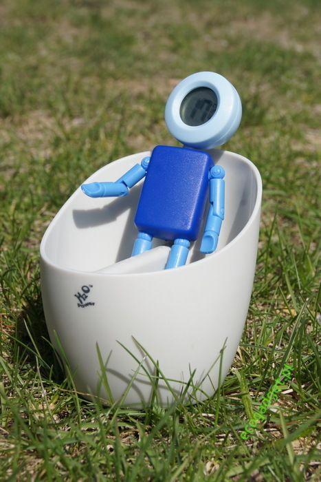 Water powered toy thermometer / Termometr  zabawka na wodę