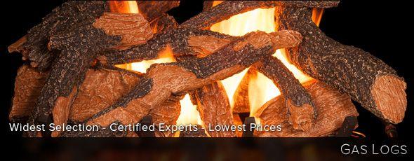Gas Logs | WoodlandDirect.com: Gas Logs Sets, Fireplace Log Sets, Fireplace Logs, Ventless Gas Log Sets