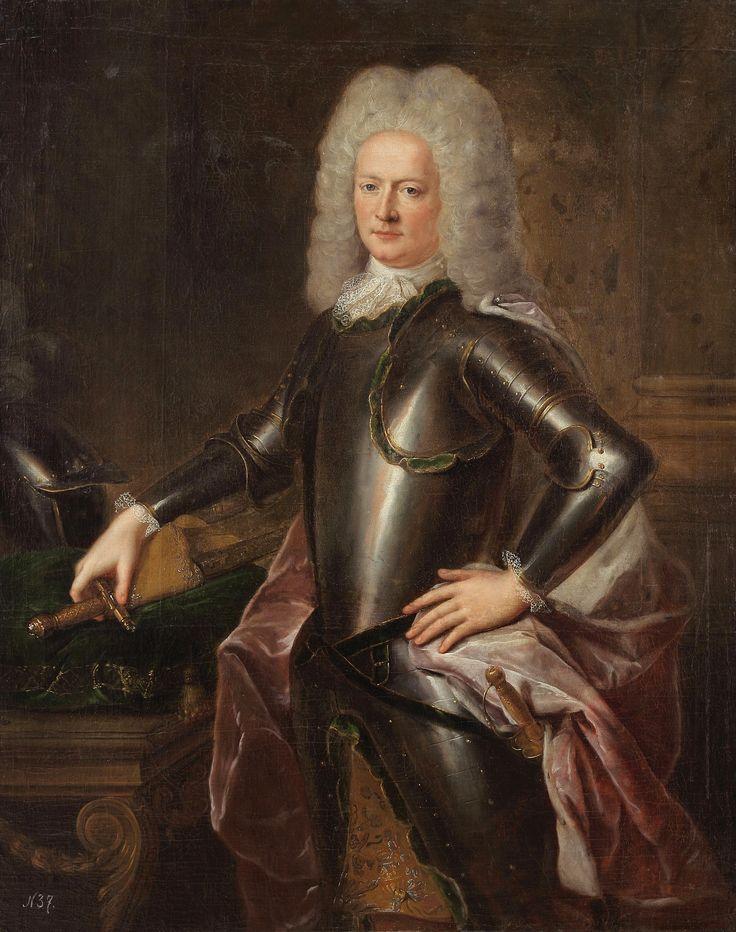 Jacob Heinrich Reichsgraf von Flemming (1667-1728), Generalfeldmarschall und Kabinettsminister.