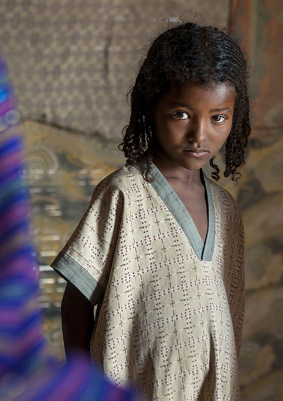Afar Tribe Girl, Assaita, Afar Regional State, Ethiopia: