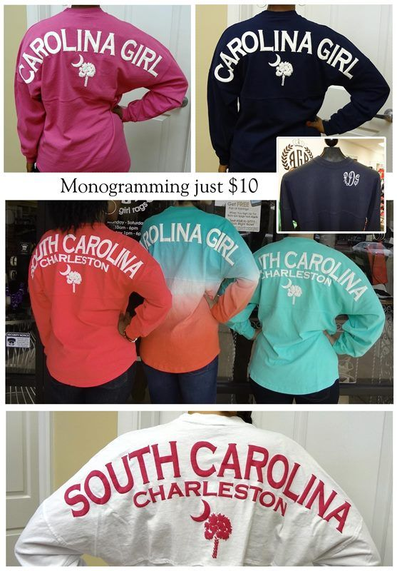:: Carolina Girl & South Carolina Spirit Jerseys, $48 ::