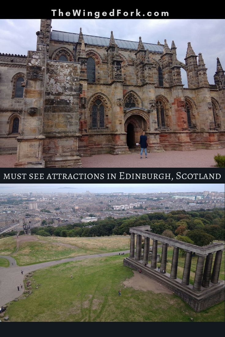 #Mustsee #attractions on a trip to #Edinburgh, the Capital of #Scotland as #recommended by The Soz - TheWingedFork