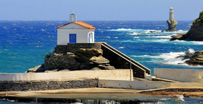 Panagia Thalassini, Andros, Greece