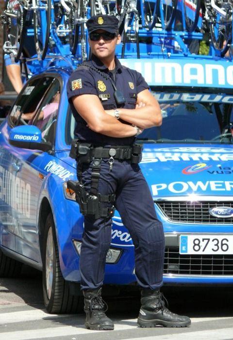 Spanish policeman