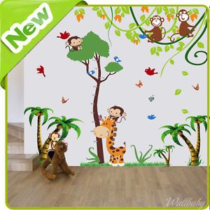 17 best images about giraffe home decor and more on - Stickers jungle chambre bebe ...