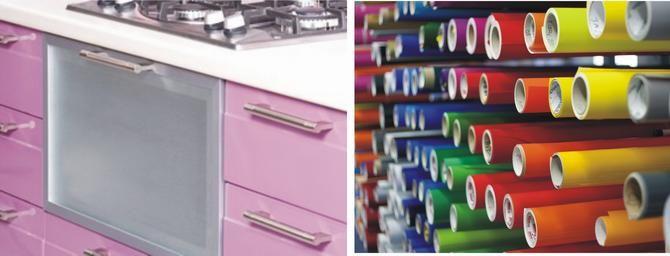 Breed plakfolie in mooi mooie RAL kleuren en metallic kleuren. Dit folie wordt veel gebruikt door reclame en beletteringsbedrijven.