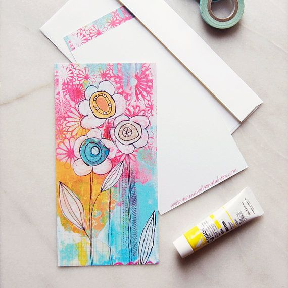 tiny print note card love letter stationary by heavensearth
