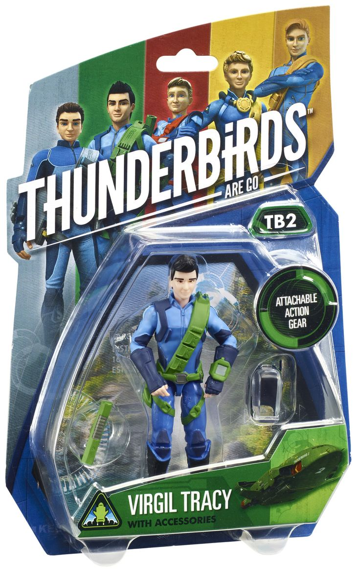 "Thunderbirds 3.75"" Action Figure - Virgil Tracy 