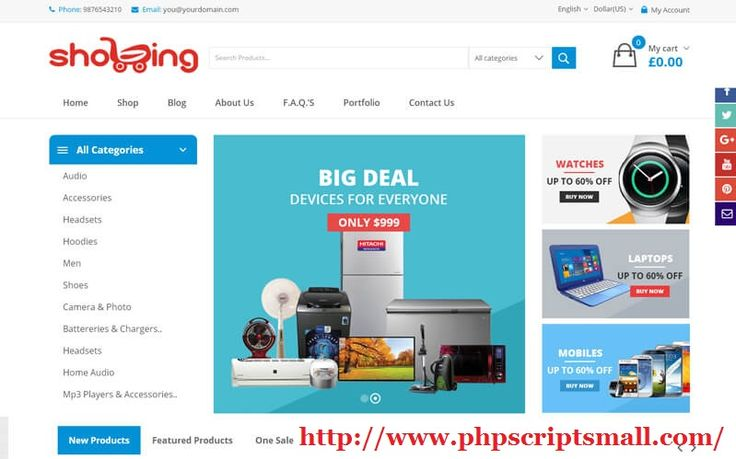 We Provides best Bestbuy Clone Scripts. Walmart Clone Script is an online shopping cart software provides a reliable, secure shopping cart solution for your ecommerce website to buy or sell through online.
