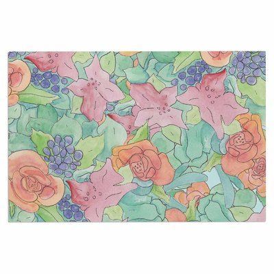East Urban Home Catherine Holcombe Southwestern Floral Doormat