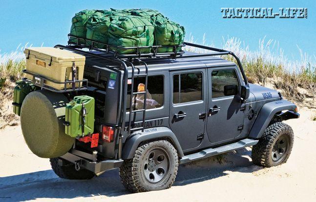 Jeep Wrangler 4×4 JK Sahara: Built For Bug-Out! | Tactical Rides #jeep #bugoutcars