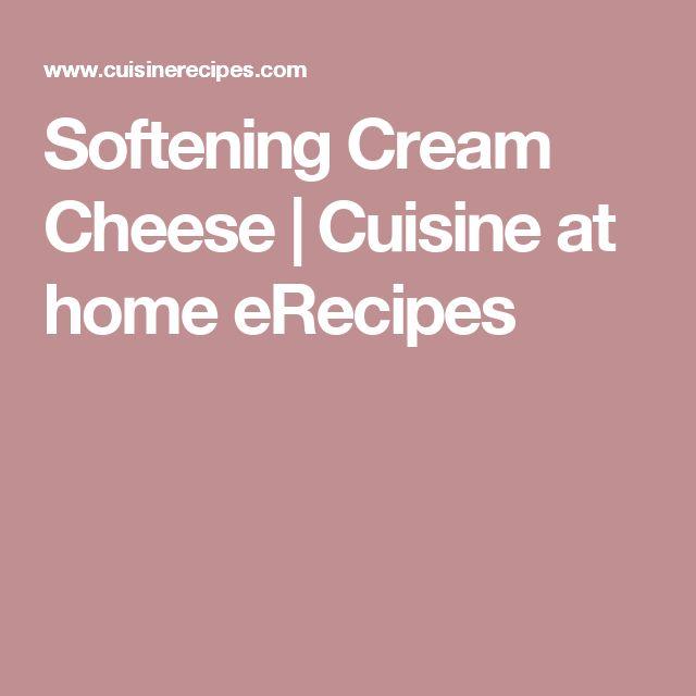 Softening Cream Cheese | Cuisine at home eRecipes