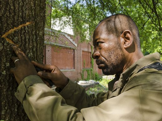 Lennie James as Morgan Jones- The Walking Dead _ Season