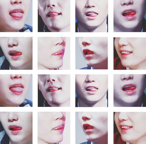SUGA LIPS♡ #BTS #SUGA sexy!! I will kiss those someday! lawl