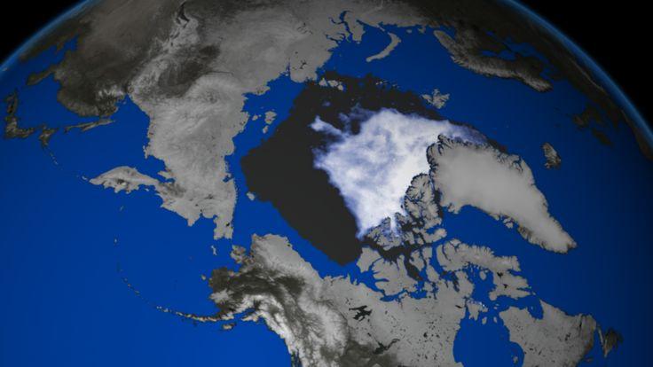 Arctic Sea Ice Extent Sets Seasonal Record
