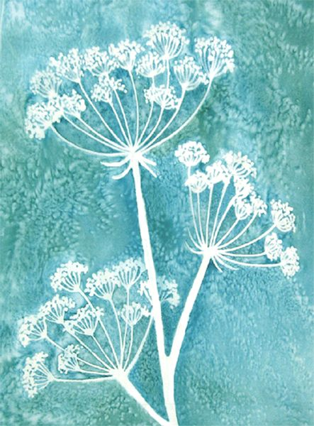 Image result for cow parsley art | Art | Silk painting ...