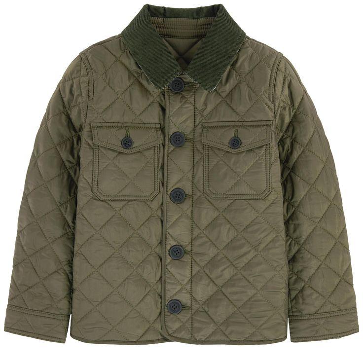 Bien connu Les 25 meilleures idées de la catégorie Burberry veste matelassée  RD24