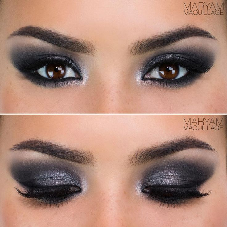 Classic smokey eye tutorial video maryam maquillage smoky eye saturday night and eyes - Maquillage smoky eyes ...