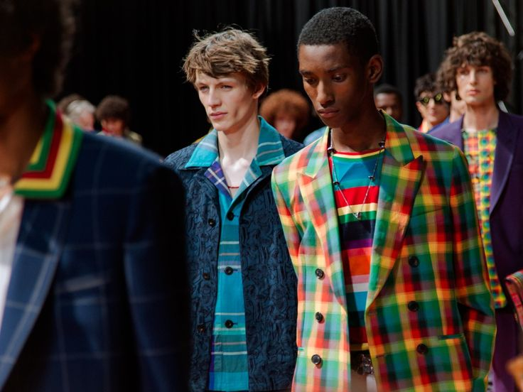 Peace, love and rainbows at Paul Smith.