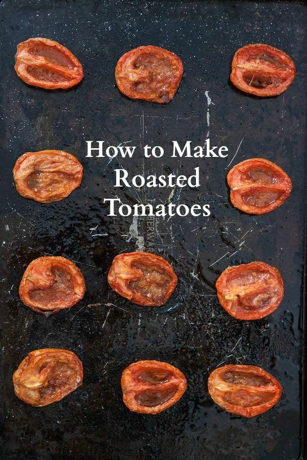 Kitchen Tips: How to Make Roasted Tomatoes | TheCornerKitchenBlog.com #KitchenTips