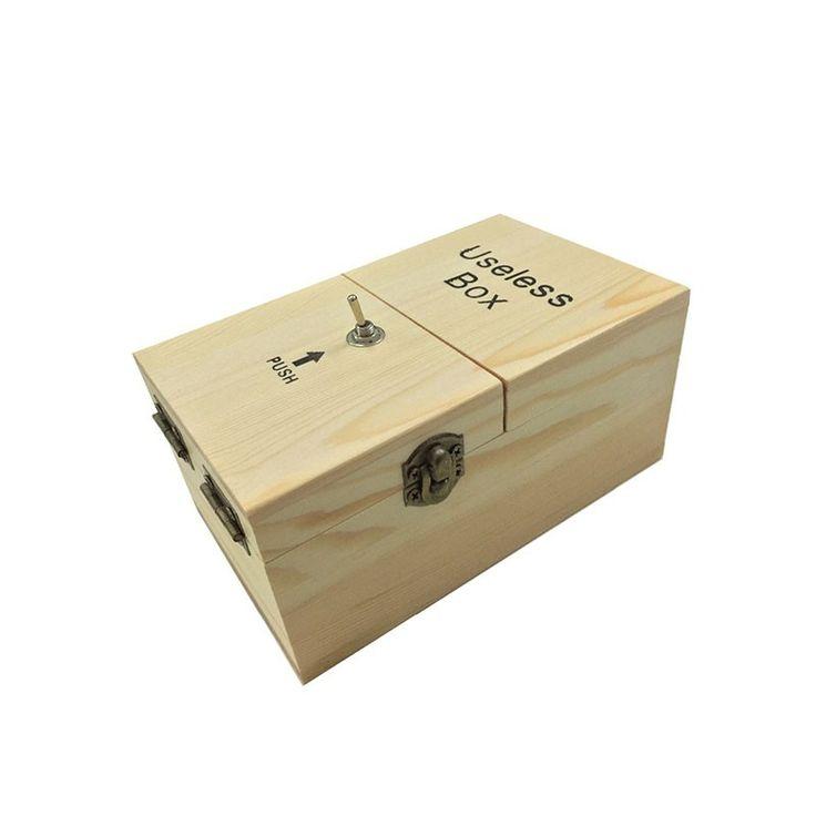 Useless Box - Real Wood Assembled Main