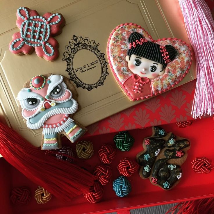 Chinese New Years Cookie Set by Icing Land