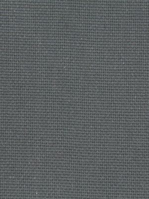 Grey Solid Color Upholstery Fabric   Woven Cotton Fabric Yardage Charcoal  Grey