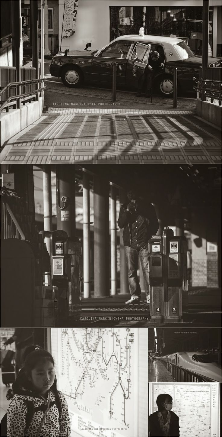 Ressha - the trains in Japan, street photography