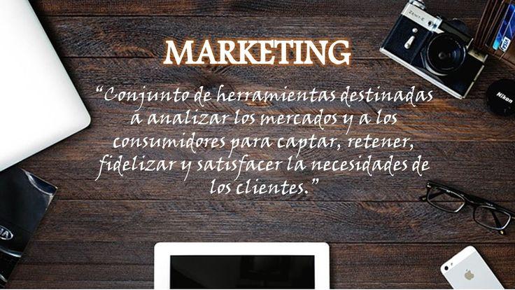 ¿Que es marketing?