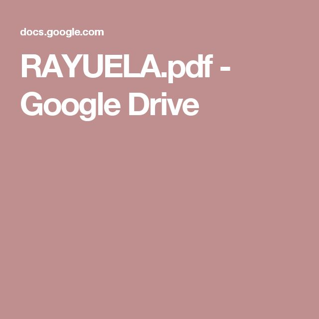 RAYUELA.pdf - Google Drive